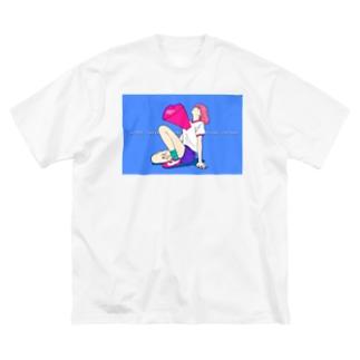 TOTEMO SUKI フロントプリント Big silhouette T-shirts
