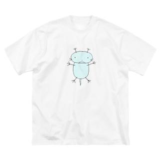 うーぱぁ Big silhouette T-shirts