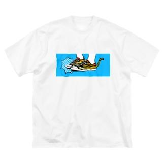 虎ちゃん Big silhouette T-shirts