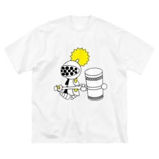ナイツ・ハンマー Big silhouette T-shirts