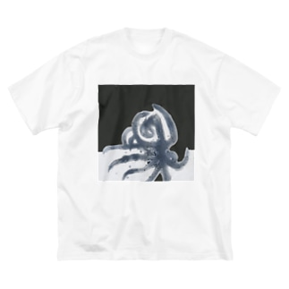 octopus Big silhouette T-shirts