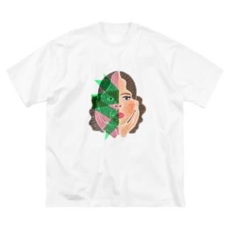 WOMEN COMPLEX 2 Big silhouette T-shirts