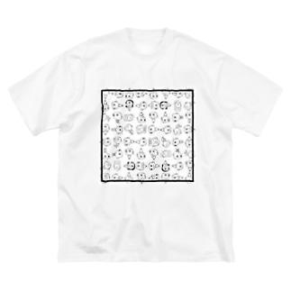 イロイロ チャーリー   Big silhouette T-shirts