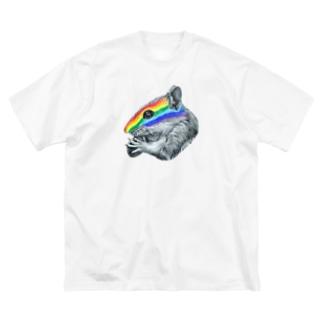 chipmunk Big silhouette T-shirts