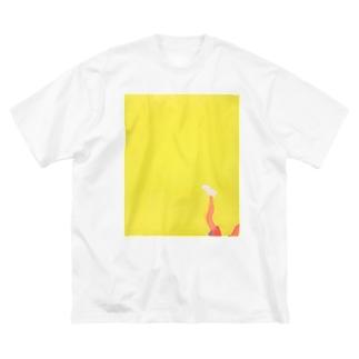 Foot Big silhouette T-shirts
