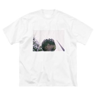 らぶピース Big silhouette T-shirts