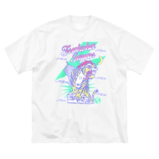虎弐號gp Big silhouette T-shirts