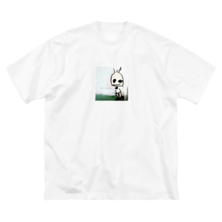 This is that I am. ありのままに生きる。 Big silhouette T-shirts