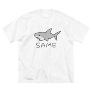 SAME(色付き) Big silhouette T-shirts