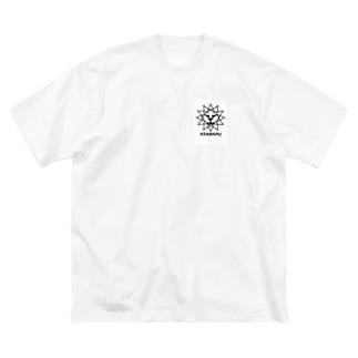 ライオン ロゴ Big silhouette T-shirts