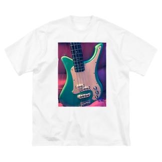 ゆあたん's 愛機SBVシリーズ シーフォームグリーン Big silhouette T-shirts