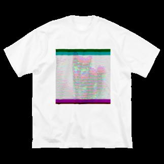 Danke Shoot Coffeeのshibanetic Big silhouette T-shirts