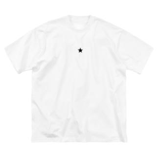 STAR Big silhouette T-shirts
