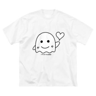 結城浩(ハート) Big silhouette T-shirts