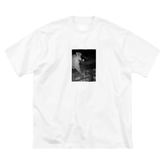 ゲロたに Big silhouette T-shirts