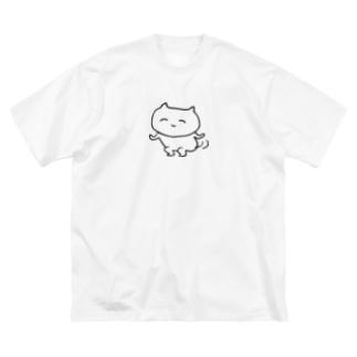 ふりふり Big silhouette T-shirts
