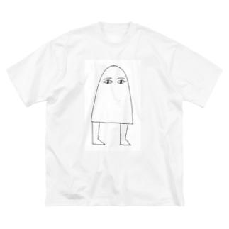 メジェド様 Big silhouette T-shirts