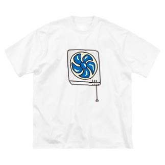 換気扇 Big silhouette T-shirts