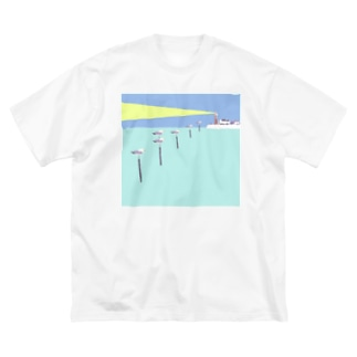 Lighthouse Big silhouette T-shirts