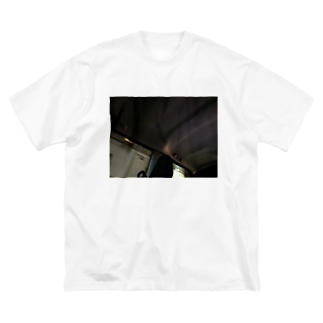 夜の車窓から Big silhouette T-shirts