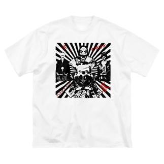 羅生 Big silhouette T-shirts