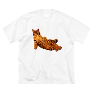 Elegant Cat 2 Big silhouette T-shirts
