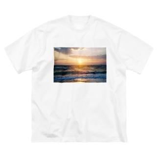あの空の向こう側 Big silhouette T-shirts