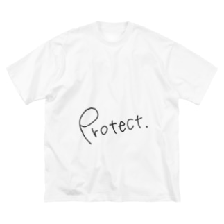 Protect Big silhouette T-shirts
