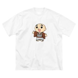 蓮ちゃん Big silhouette T-shirts