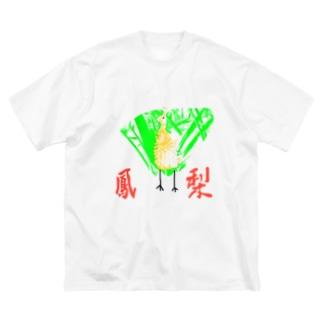 PP( pineapple Phoenix) Big silhouette T-shirts