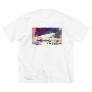 可愛いキミ(横①) Big T-shirts