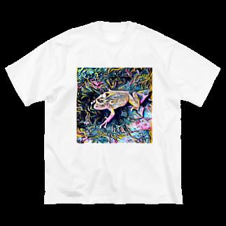 Fantastic FrogのFantastic Frog -Highlight Version- Big silhouette T-shirts