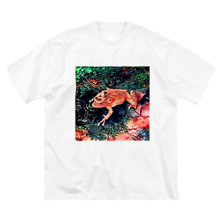 Fantastic FrogのFantastic Frog -Tropical Version- Big silhouette T-shirts