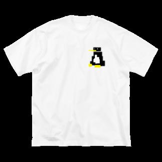 johnny's martのペンギンさん Big silhouette T-shirts