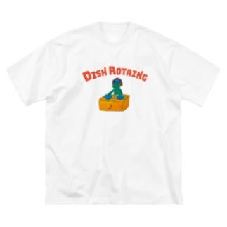 DJカッパ皿回師 Big silhouette T-shirts