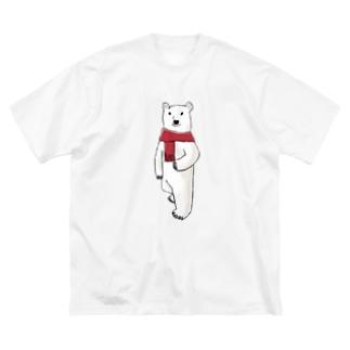 Mr. ポーラーベアー Big silhouette T-shirts