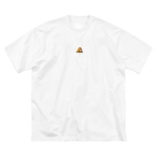 とりもぐくん Big silhouette T-shirts