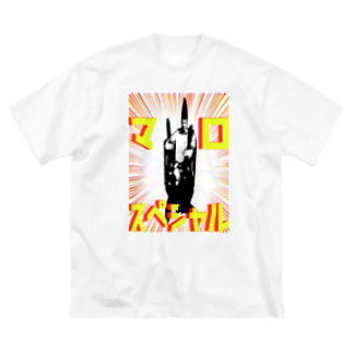 Danke Shoot Coffeeのマロ・スペシャル Big silhouette T-shirts