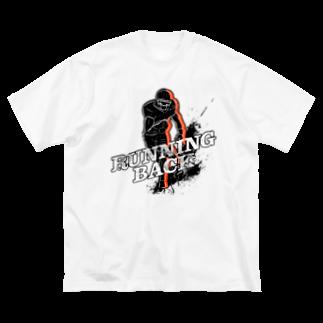 PB.Designsのランニングバック B Big silhouette T-shirts