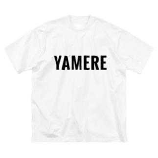 YAMERE Big silhouette T-shirts