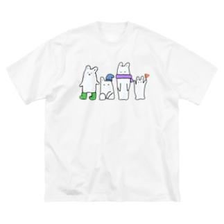へんな生きもの Big silhouette T-shirts