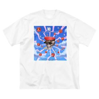 インフィニティチエリー党プロバガンダ Big silhouette T-shirts