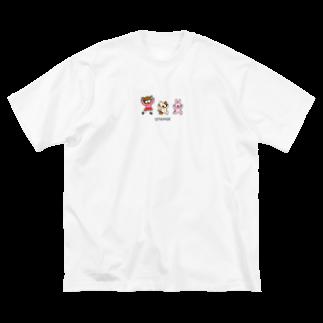 つっこみ処のおてあげーズ Big silhouette T-shirts