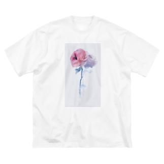 おくちばらちゃん Big silhouette T-shirts