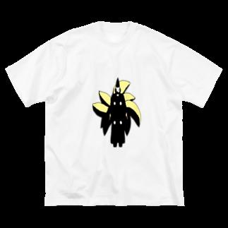 Danke Shoot Coffeeの九尾神官 Big silhouette T-shirts