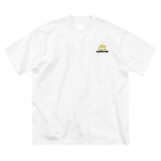 ぐでオムかめ Big silhouette T-shirts