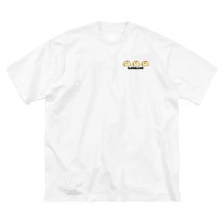 グッジョブオムかめ Big silhouette T-shirts