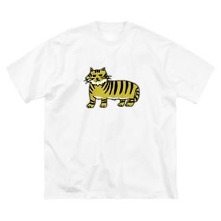 うろ覚えのトラ Big silhouette T-shirts