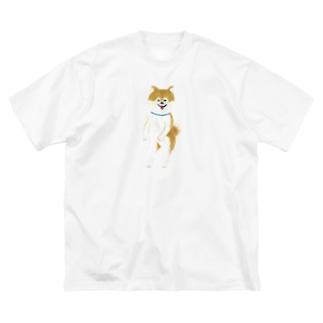 ちんころ Big silhouette T-shirts