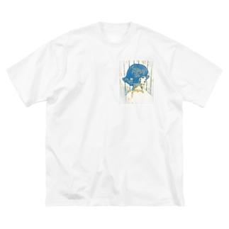 perm Big silhouette T-shirts